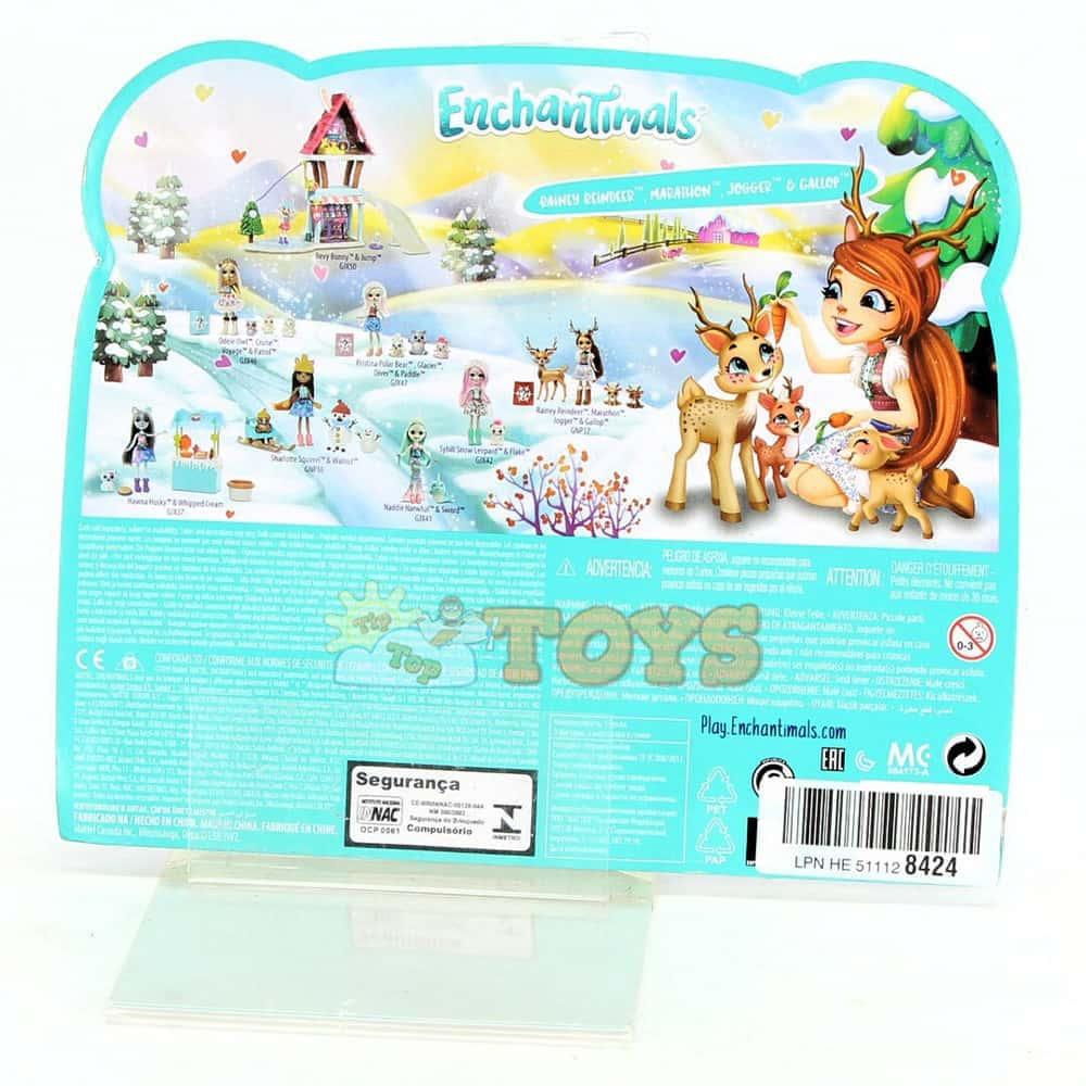 Enchantimals Set de joacă Rainey Reindeer și familia de reni GNP17