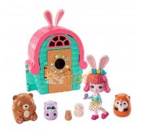 Enchantimals Set de joacă Cabina lui Bree Bunny Secret Besties GTM47