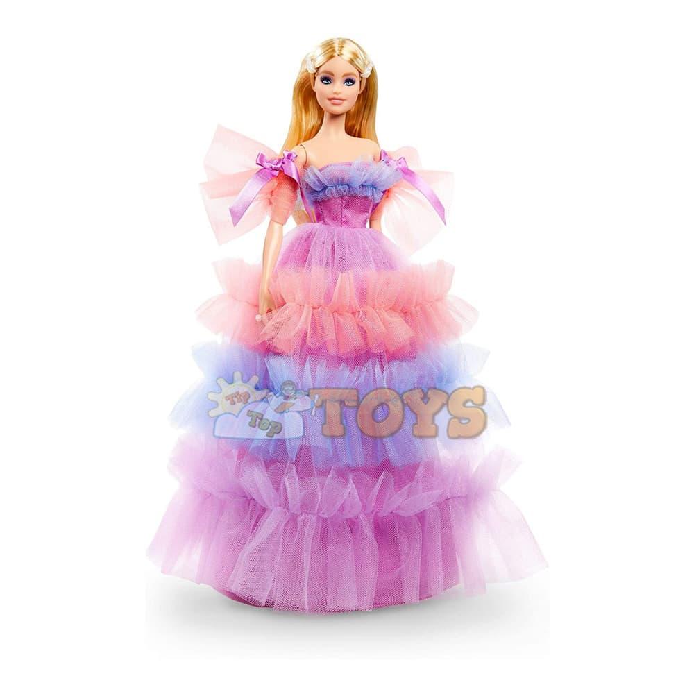 Păpușă Barbie Signature Birthday Wishes GTJ85 La mulți ani Mattel