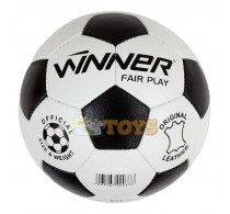 WINNER Fair Play Minge de fotbal piele naturală mărimea 5 32 panouri