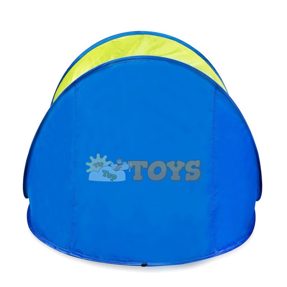 Spokey Altus cort de plajă Pop-Up paravan de plajă verde albastru