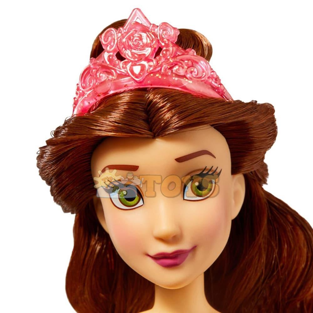 Păpușă Prințesă strălucitoare Belle F0898 Figurină Disney Princess