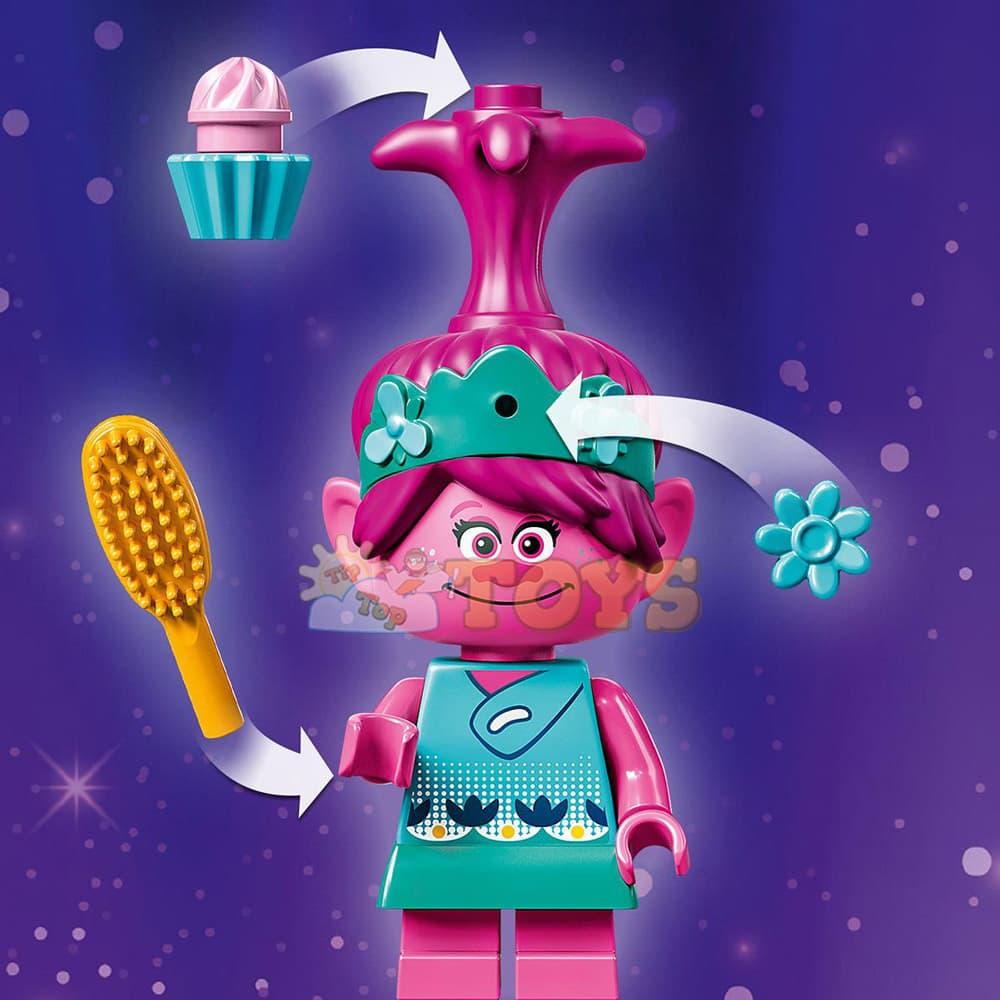 LEGO® Trolls World Tour Capsula lui Poppy 41251 - 103 piese