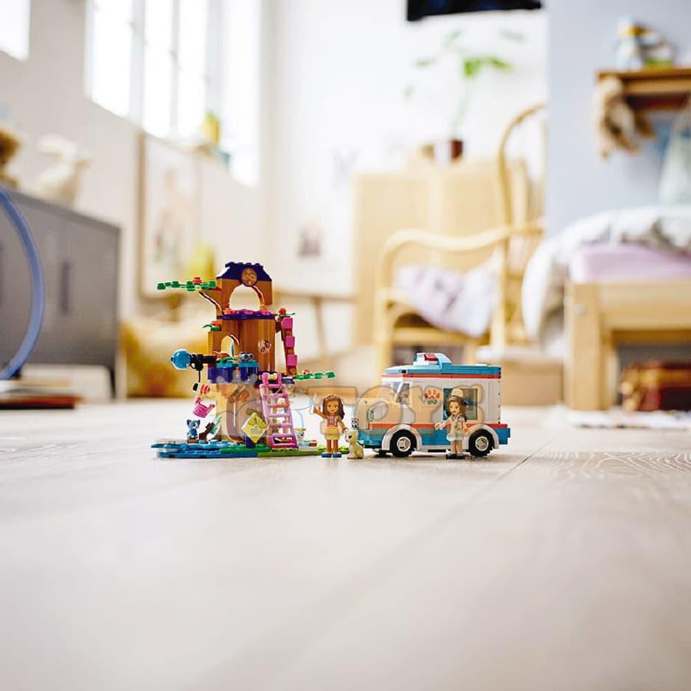 LEGO® Friends Ambulanță veterinară 41445 - 304 piese