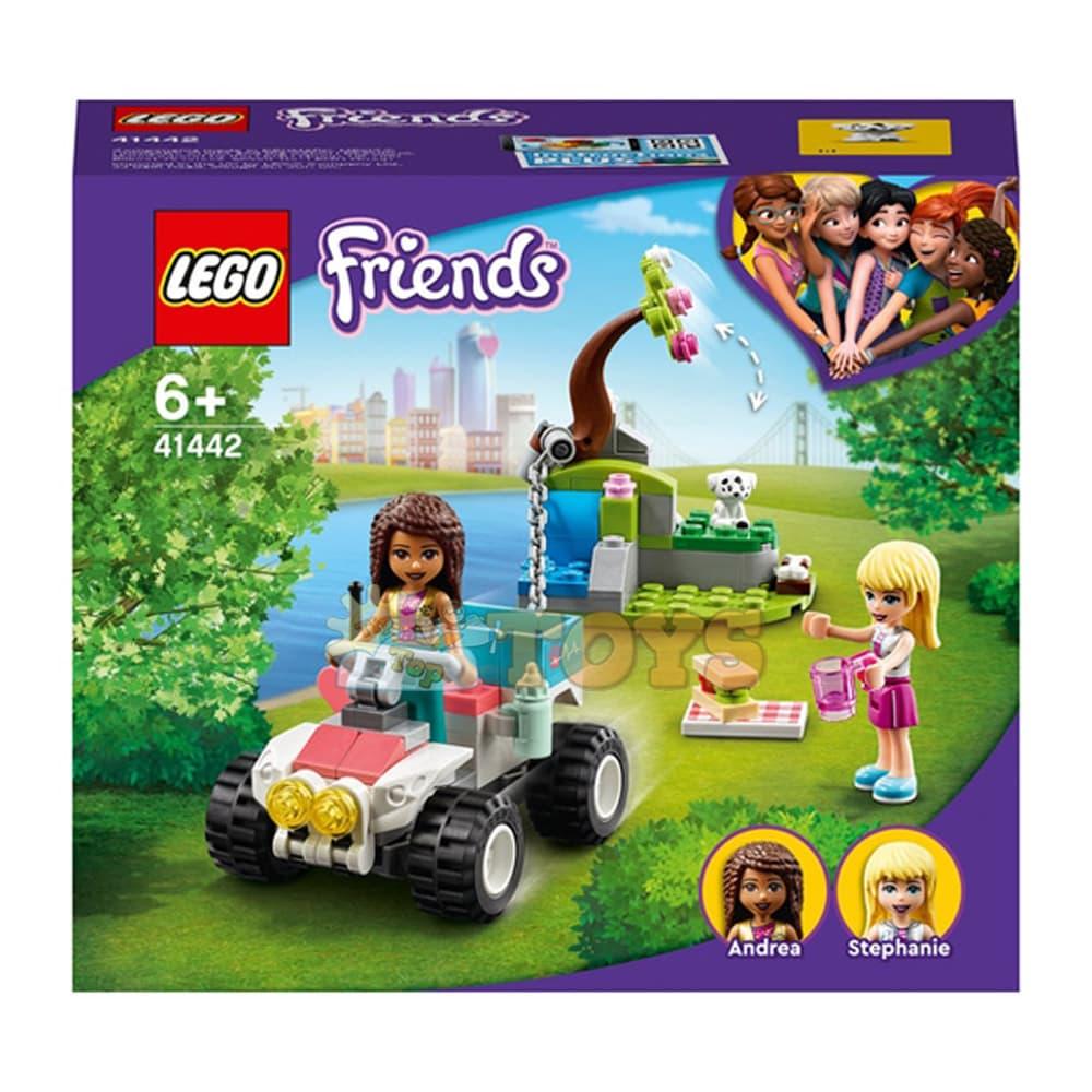 LEGO® Friends Mașina veterinară de salvare 41442 - 100 piese
