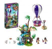 LEGO® Friends Salvarea tigrului din junglă cu balonul 41423 - 302 piese