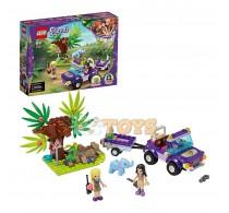 LEGO® Friends Salvarea puiului de elefant din junglă 41421 - 203 piese