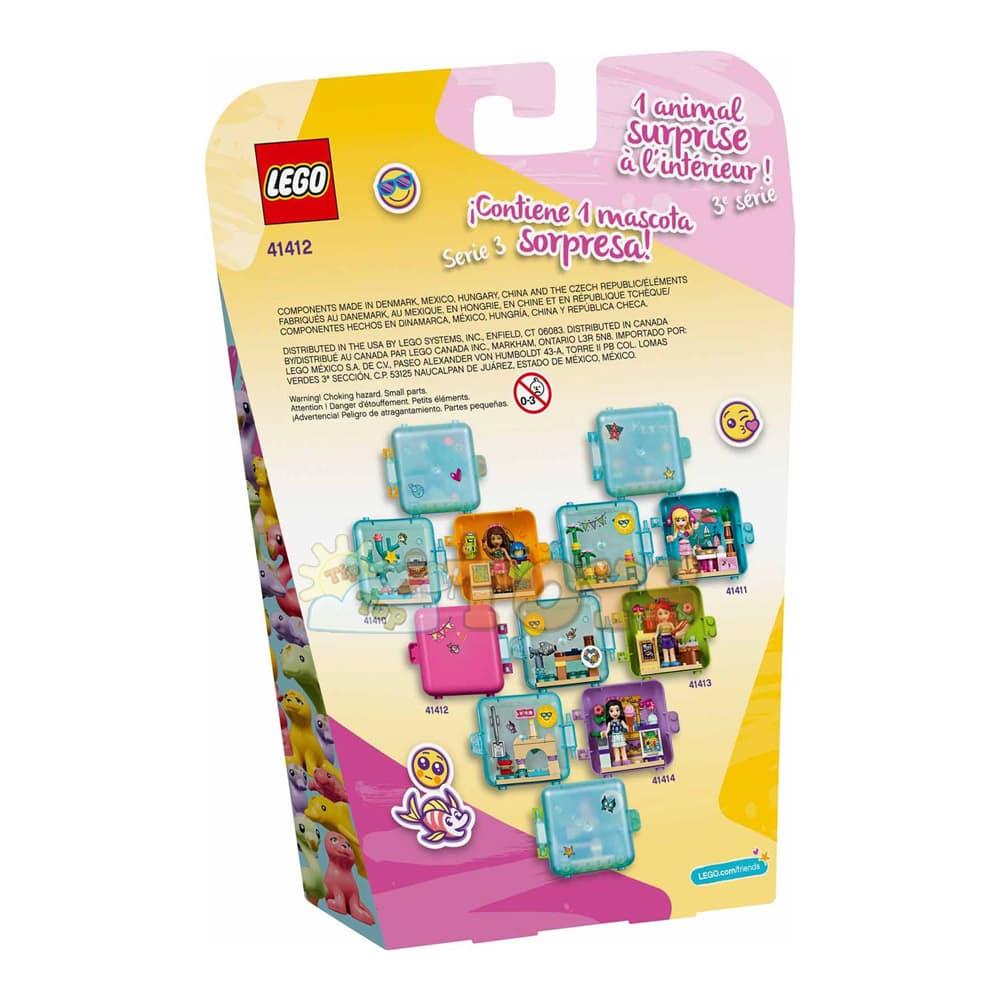 LEGO® Friends Cubul jucăuș de vară al Oliviei 41412 - 48 piese