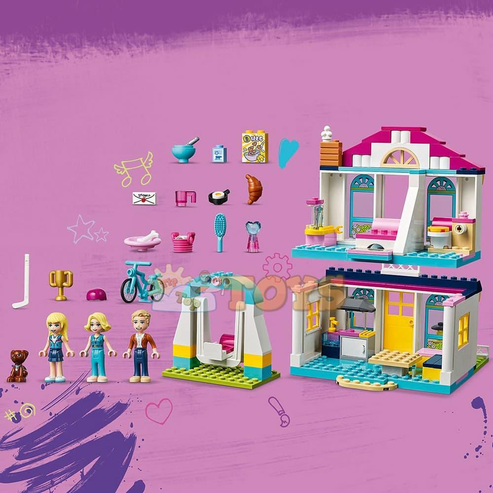 LEGO® Friends Casa lui Stephanie 41398 - 170 piese