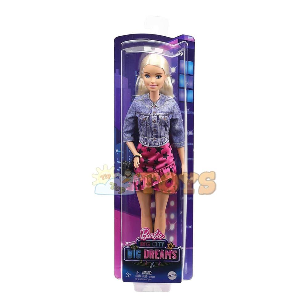 Păpușă Barbie Big City Big Dreams Malibu GXT03 - Mattel