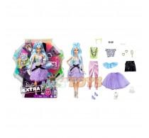 Păpușă Barbie Fashionista Extra cu accesorii extravagante GYJ69